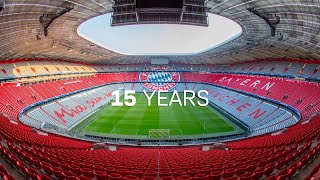 15 years of Allianz Arena