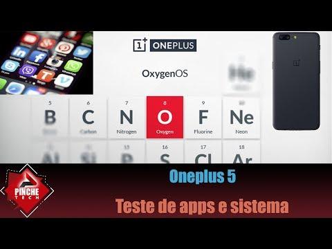 Oneplus 5 - Conhecendo a OxygenOS + teste em apps + efeito geleia?