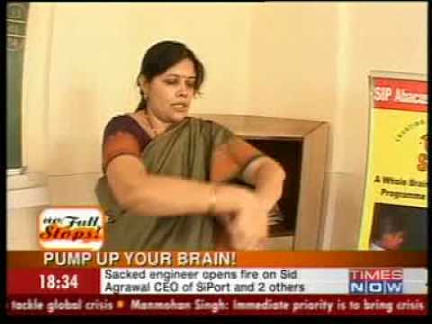 Times Now - SIP Abacus & Brain Gym coverage