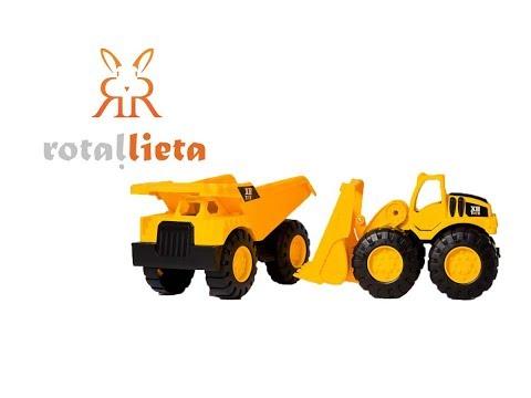 Rotaļu kravas mašīnas - Trailblazer truck set
