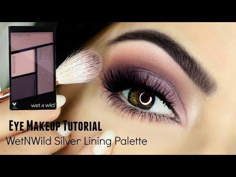 Beginners Eye Makeup Tutorial Using WetnWild | Parts of the Eye | How To Apply Eyeshadow thumbnail
