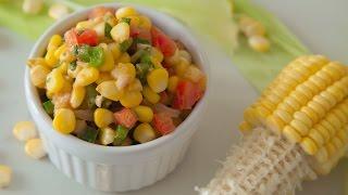 Corn Chaat | Masala Corn | Quick & Easy Recipe By TeamworkFood