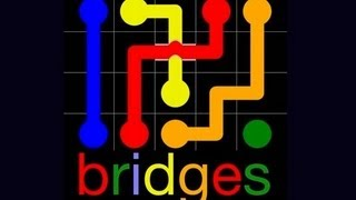 Flow Free Bridges iPad App Review - CrazyMikesapps screenshot 1