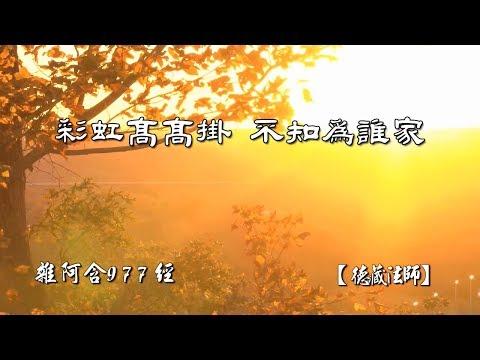 雜阿含977經-01.彩虹高高掛  不知為誰家【德藏法師】