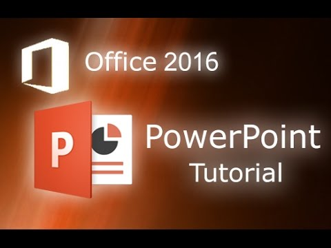 Microsoft PowerPoint 2016 - Full Tutorial for Beginners [General Overview]*