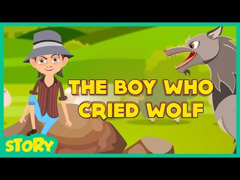 THE BOY WHO CRIED WOLF (Kids Story) THE BOY AND THE WOLF II