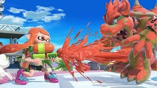 Inkling Moveset Breakdown and Character Mechanics - Super Smash Bros. Ultimate