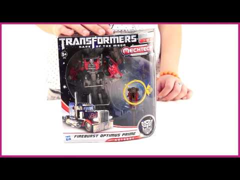 Transformers 3. Mechtech. Механическая фигурка 18 см. Optimus Prime (29706)