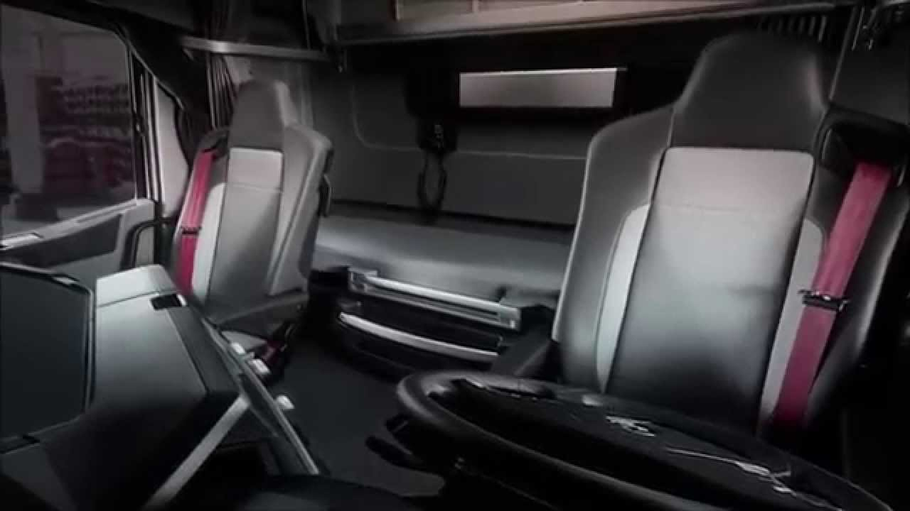 Nuovo renault t interni youtube for Renault range t interieur