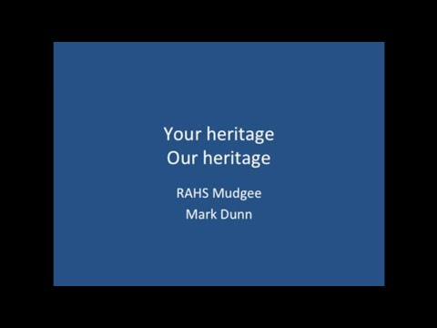 Your Heritage, Our Heritage – Mark Dunn
