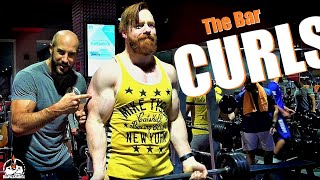 The Bar Curls The Bar (SAUDI GYM SESSION!)