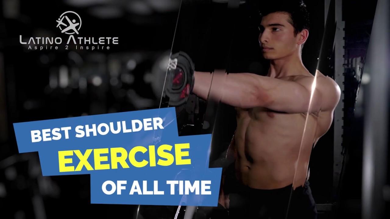 LatinoAthlete Best Shoulder Exercise