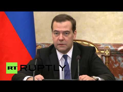 Russia: 'We may ban govt contracts for offshore companies' - Medvedev