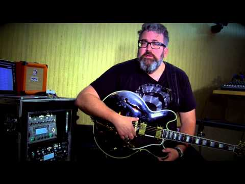 Kemper Profiler Rig Check - Uwe Bossert getting acoustic/ electric sounds