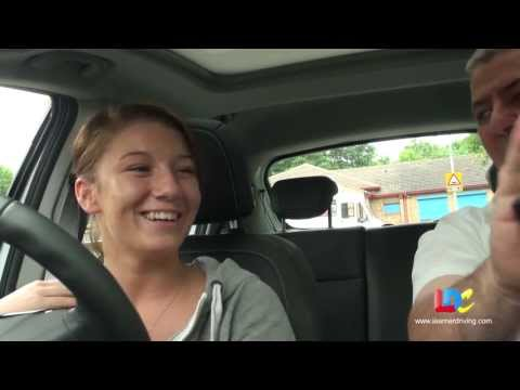 Bobby Jo's driving lesson 1 with LDC - Getting moving