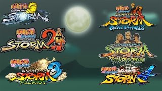 Naruto Ultimate Ninja Storm 1-4: ALL OPENINGS/INTROS! (2008-2016)