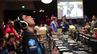 @Jus_Guccii going off on some guy at UMG Dallas 2013
