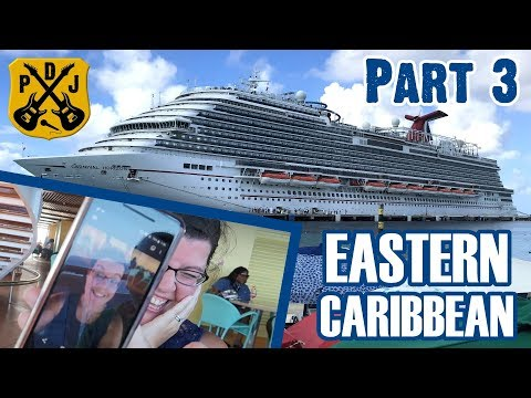 Carnival Horizon 2018 Eastern - Part 3: Sea Day, Lido Fun, Tea Time, Sunglasses, Cocoa - ParoDeeJay