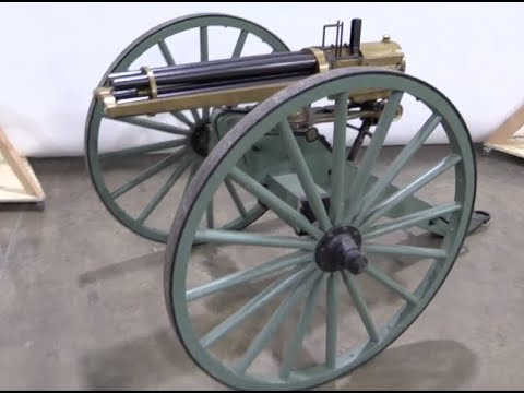 .50 BMG Hotchkiss Revolving Cannon Reproduction