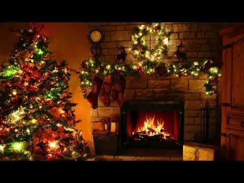 Рождественский вечер у камина с прекрасной музыкой в стиле Jazz
