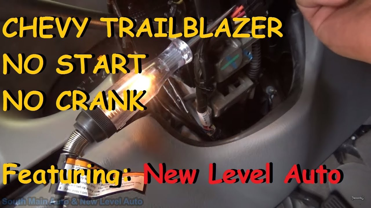hight resolution of no crank no start diagnosis