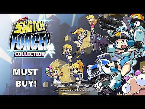 Mighty Switch Force Collection Review! (Nintendo Switch) from YouTube · Duration:  12 minutes 2 seconds