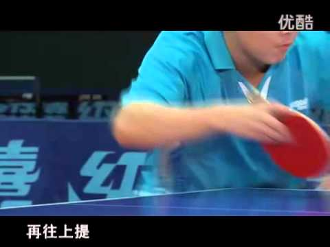 Wang Hao dạy giao bóng