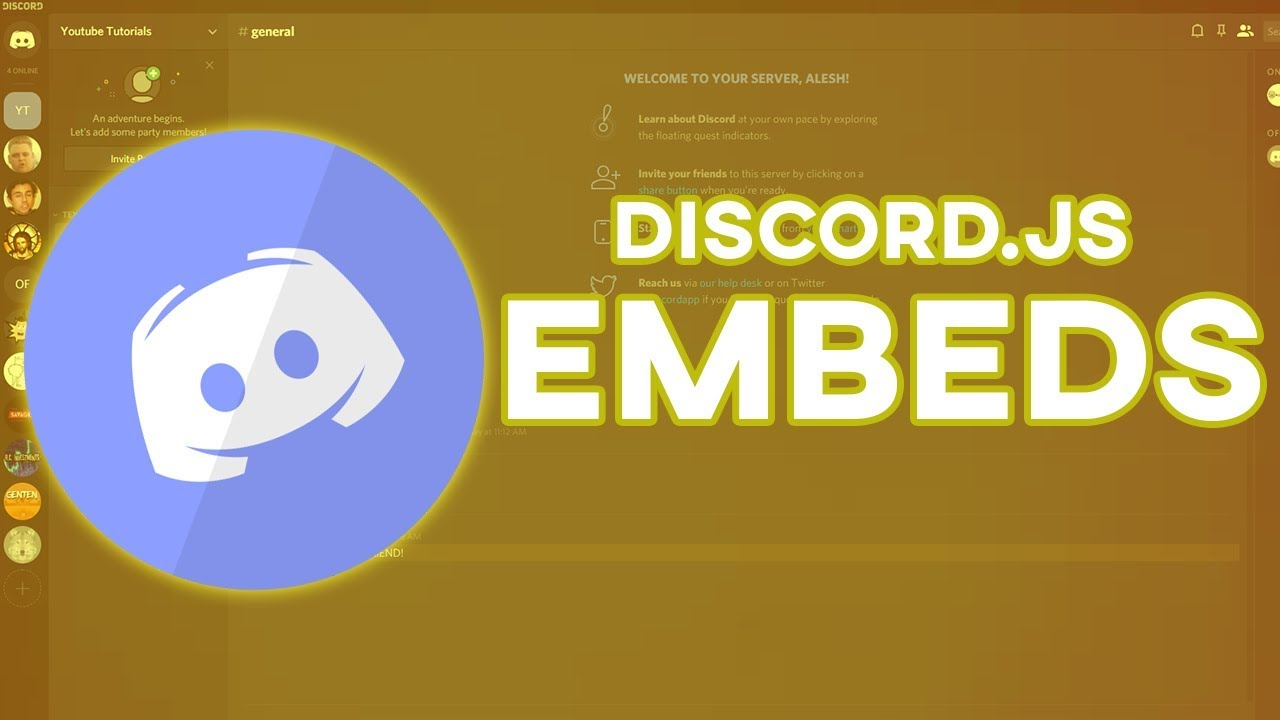 Make Your Own Discord Bot | Embeds (NEW 2019)