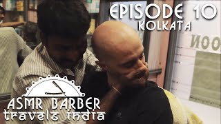 Indian Barber - Head and Back Massage with Neck and Ears Crack - ASMR no talking