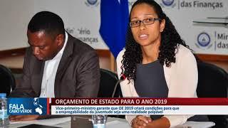 ORÇAMENTO DE ESTADO PARA O ANO 2019