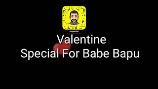 Valentine's With Your Parents - Babbe Bapu Love You WhatsApp Status - 30 Sec