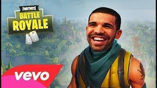 Drakes God's Plan Fortnite Parody