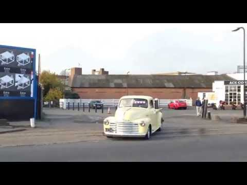 belair turbocharged & chevy pickup accelerating
