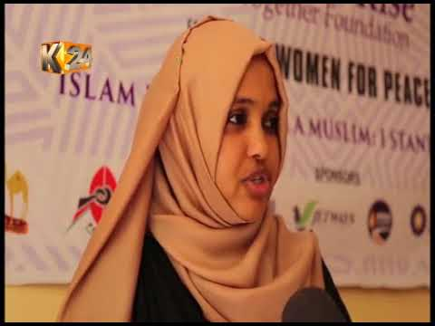A group of women come together to engage community in building peace within Wajir county
