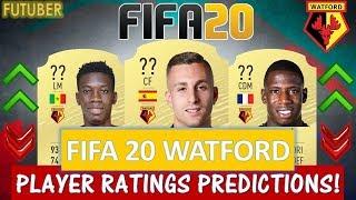 FIFA 20   WATFORD PLAYER RATINGS!! FT. DEULOFEU, SARR, DOUCOURE ETC... (FIFA 20 RATINGS)