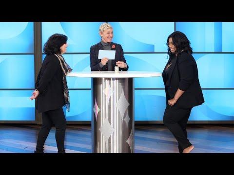 Octavia Spencer Spins Ellen's Wheel of Riches!