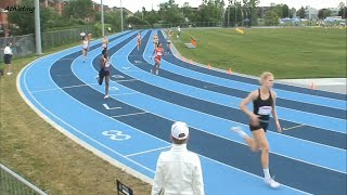2014 Canadian Junior Track and Field Championships: Women 400 Meters semi finals