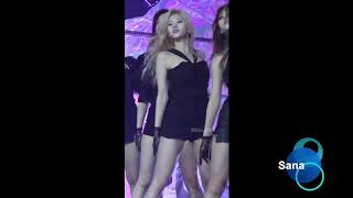 Gambar cover twice sana black skirt fancam