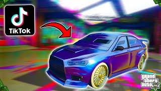 Making & Rating Viral TikTok GTA 5 Online Car Customization Videos! (Part 15)