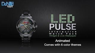 Led Pulse Hd Watch Face, Widget & Live Wallpaper