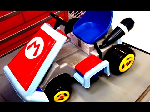 Wheels Mario Kart Ride On Vehicle