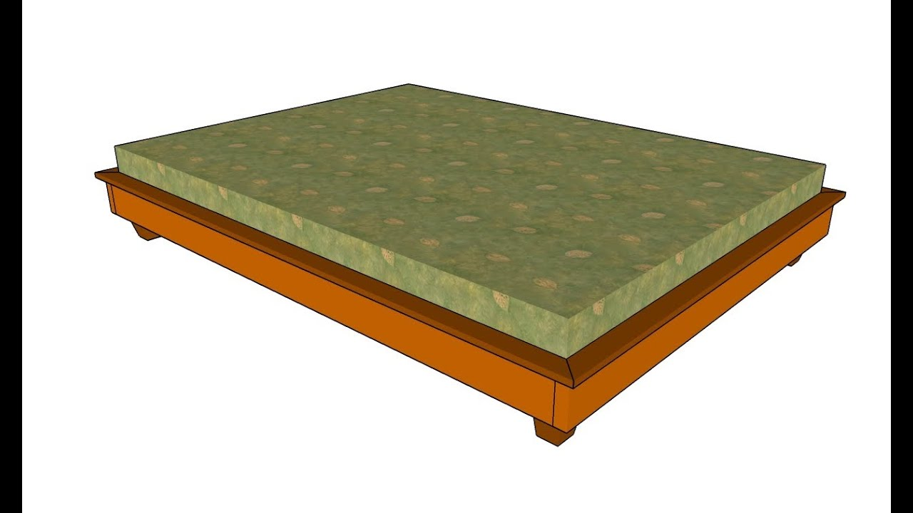 Simple Bed How To Build A Simple Bed Frame