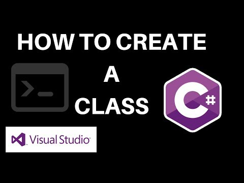 C# - How To Create a Class [Person Type Class]