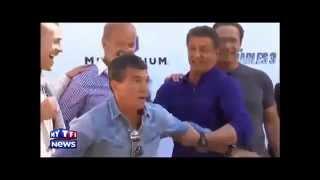 I MERCENARI 3 - Arrivo del cast e foto di rito - Cannes 2014