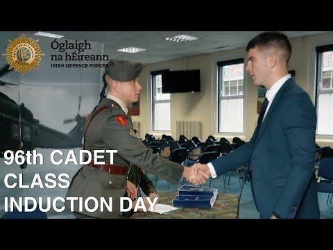 Defence Forces Cadet Induction - Cadet Induction