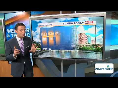 STORMY THURSDAY | It's going to be a wet day in the Tampa Bay Area