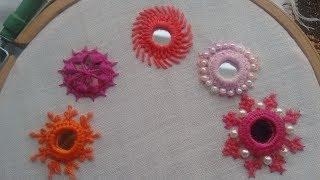 187-Mirror work embroidery शीशा लगाने का सबसे आसान तरीका  (Hindi/Urdu)