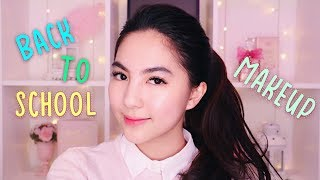 VERY NATURAL MAKEUP for School & How to Stay FRESH During School (Tips and Tricks + Tutorial) 🌸