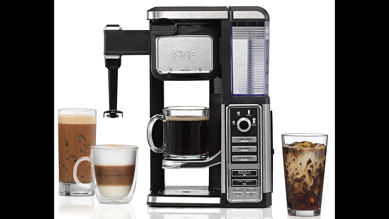 Ninja Coffee Bar Single Serve System With Built In Frother Cf112 Kitchen Dining