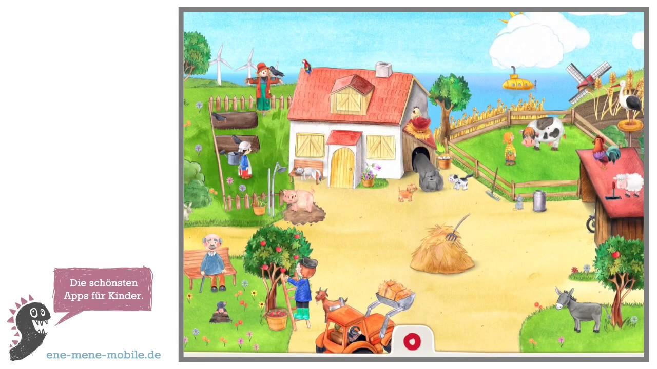wimmelbuchapp für kinder 🐮 mein bauernhof 🐮 appvorschau